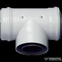 Bosch 100/150 mm-es T-idom vizsgálónyílással (AZB 635/1)