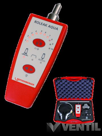 Rothenberger Roleak Aqua vízvezeték ellenőrző