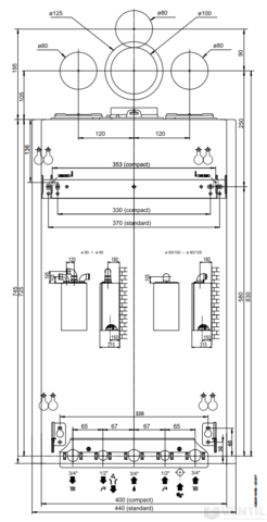 Ariston Genus One 24 kombi kondenzációs fali gázkazán EU-ERP