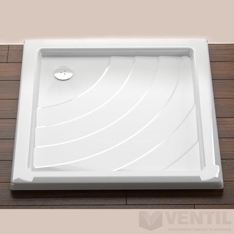 Ravak Angela 90 EX négyzet alakú zuhanytálca, 90x90 cm, fehér, akril