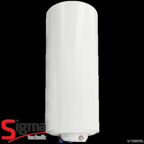 Sigma Technik KOMBI-100 1 csőkígyós fali indirekt tároló villamos pótfűtéssel, jobbos, 100L