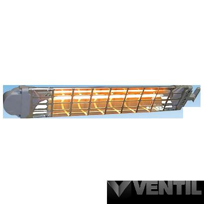 B&K Moel Fiore infrafűtő berendezés, függeszthető, 1200W, 712x112x83mm, láncos rögzítés