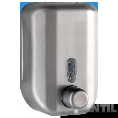 B&K falra szerelhető szappanadagoló, rozsdamentes acél, 0,7 literes