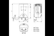 Stiebel Eltron SNU 5 SLi+WST-W kétgombos mosdó csapteleppel