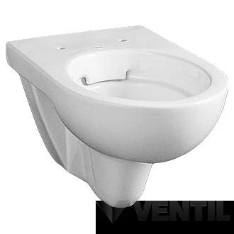 Kolo Nova Pro Rimfree mélyöblítésű fali WC csésze perem nékül, ovális