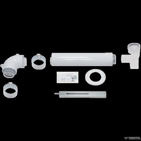 Vaillant 60/100 mm-es PP alap szett kéményaknás égéstermék elvezetéshez