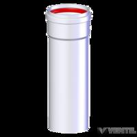 Tricox ACS207 alu 80 cső natúr 1000mm