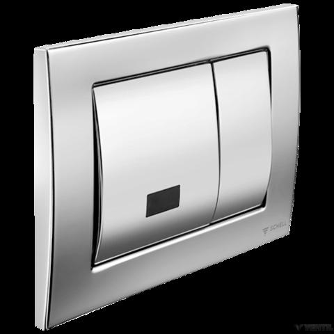 Schell Montus Field E automata / manuális vandálbiztos WC tartály nyomólap króm