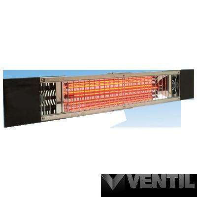 B&K Moel Petalo infrafűtő berendezés, függeszthető, 1800W, 830x38x120mm, láncos rögzítés