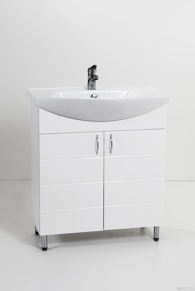 HB Standard 75 MART fürdőszoba szekrény Vega mosdóval 850x750x350 mm 14f2a3880c