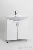 HB Standard 65 MART fürdőszoba szekrény Vega mosdóval 850x650x350 mm