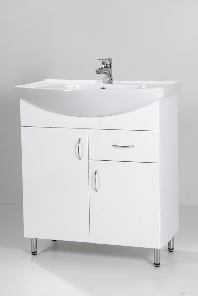HB Standard 75F fürdőszoba szekrény mosdóval 850x750x350 mm 3f7247ba78