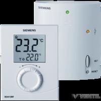 Siemens RDH10 RF rádiófrekvenciás digitális termosztát
