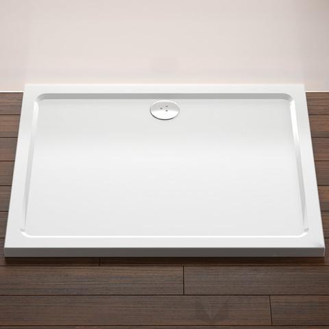 Ravak Gigant LA téglalap alakú zuhanytálca, 120x90 cm, fehér, akril