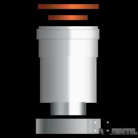 Beretta 80/125 indító idom kondenzációs kazánhoz