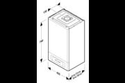 Saunier Duval Semiatek Condens 24 kondenzációs kombi gázkazán 24 kW EU-ERP