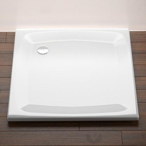 Ravak Perseus 100 EX négyzet alakú zuhanytálca, 100x100 cm, fehér, akril