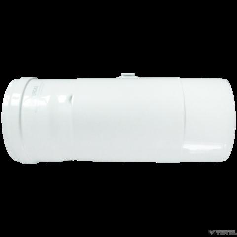 Immergas 80/125 mm-es, egyenes idom nyitható vizsgáló nyílással